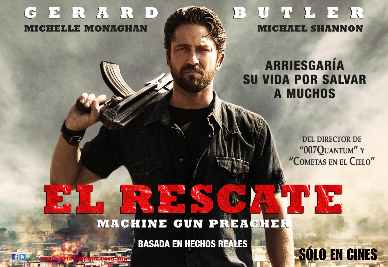Gerard Butler protagoniza la película 'El Rescate' Gerard Butler Pa