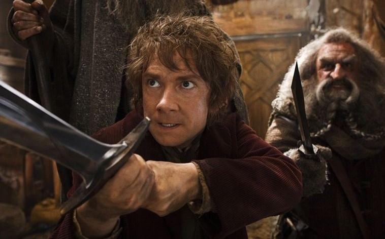 El Hobbit La Desolación de Smaug bilbo bolson