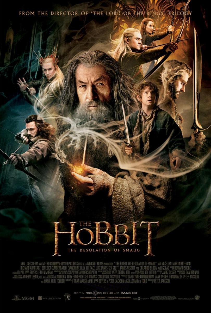 el hobbit La desolacion de smaug CARTEL
