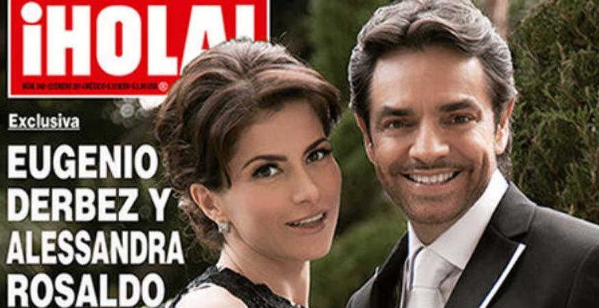 Gabriela Michel y Eugenio Derbez Eugenio Derbez y Alessandra