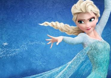 Frozen Una aventura congelada Elsa