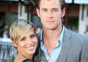 Chris Hemsworth y Elsa Pataky gemelos AP