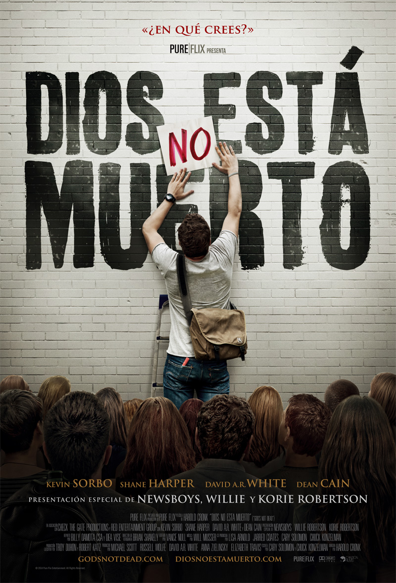 Dios No Esta Muerto (God's Not Dead) (Español Latino) (Online) (Película Cristiana)