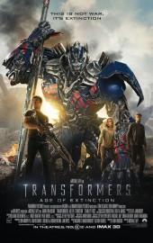Transformers 4 La Era de la Extinción poster ingles