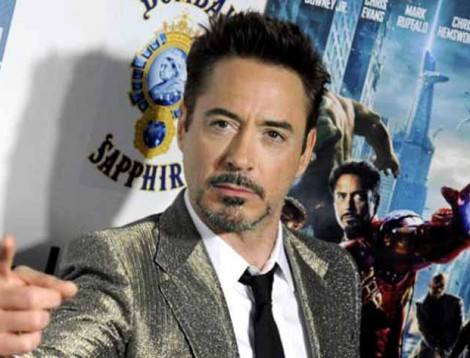 Robert Downey Jr. IronMan EFE