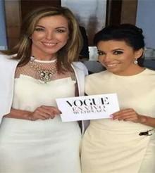 La actriz Eva Longoria es la estrella de 'Vogue en Vivo' en Panamá