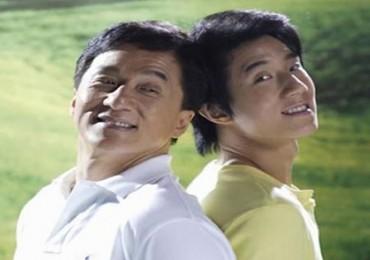 Jackie Chan y Jaycee Chan efe 2