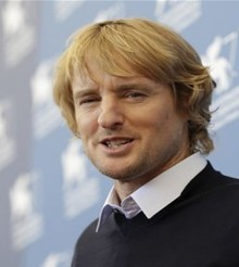 Owen Wilson en Venecia con 'She's Funny That Way'