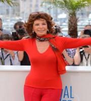 Sophia Loren Cannes 2
