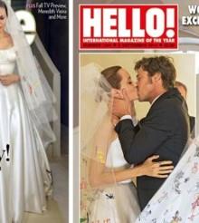Angelina Jolie y Brad Pitt desvelan las primeras imágenes de su boda