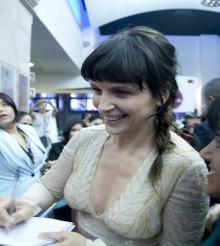 Juliette Binoche aconseja humildad a jóvenes actores