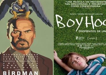 Birdman y Boyhood 2 co