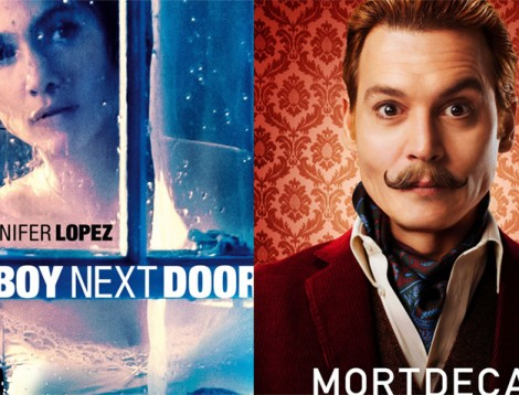 The Boy Next Door y Mortdecai