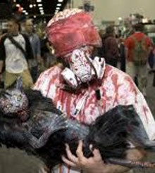 Los zombies se apoderaron del Comic-Con de San Diego
