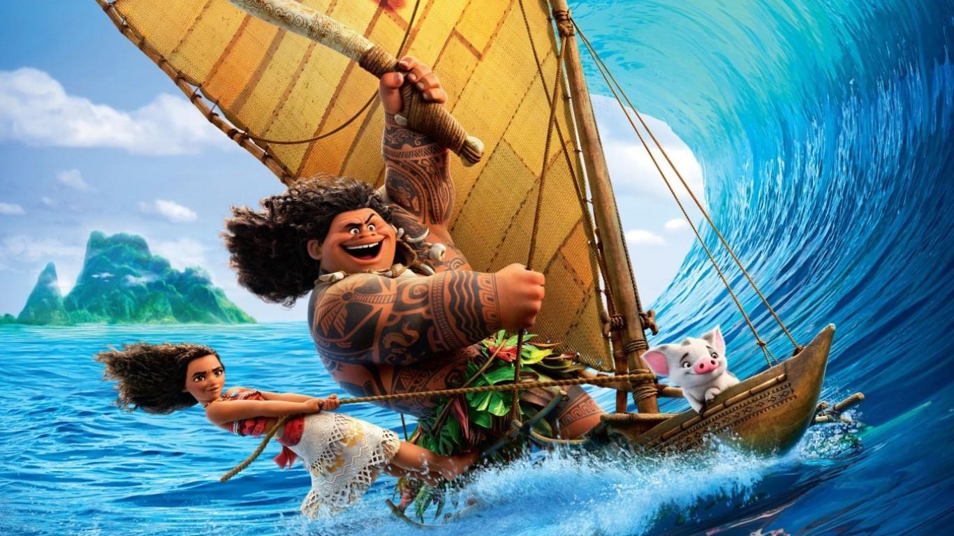 Moana Pel 237 Cula Animada Disney Creadores De Zootopia