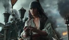 """Un joven Jack Sparrow y un Salazar lleno de ira en """"Piratas Del Caribe"""""""