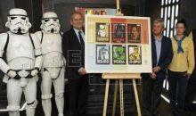 Star Wars presenta revolucionario sello para correos